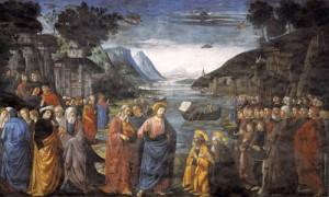 Jesus Commissioning His Apostles